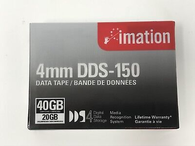 Imation 4mm DDS-150 Data Tape 20 40 GB 20/40GB DDS 51122 40963 - New & Sealed