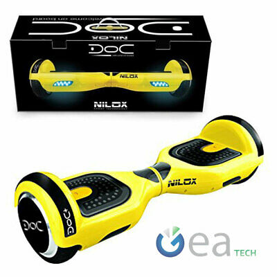 Hoverboard Nilox Doc 6,5 Monopattino Elettrico Scooter 8A Pedana luci a led