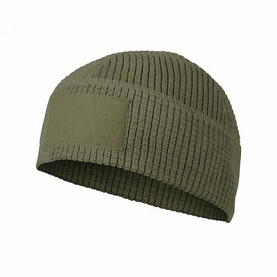 Helikon Tex Range Beanie Cap Grid Fleece Olive Green