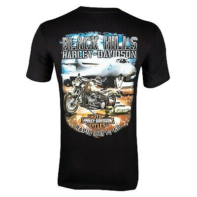 Black Hills Harley-Davidson® Men's Bomber Short Sleeve T-Shirt