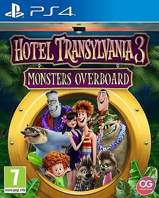 Hotel Transylvania 3 Monsters Overboard PS4  PAL