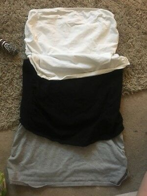 Bump Bands X3 Size M Black White And Grey
