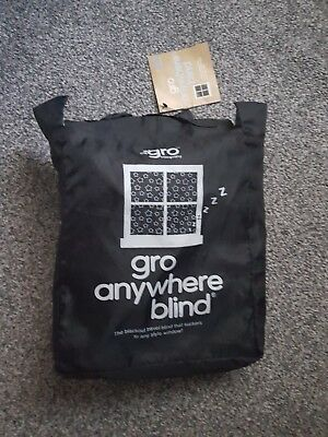 Gro Company Anywhere Blind Blackout Curtain Travel Baby Kids