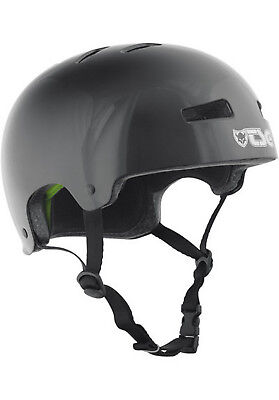 TSG Helm Skate/BMX Injected Color Black Grösse L/XL (57-59cm) Skate Helm