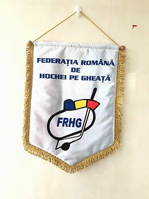 Romania Ice Hockey Federation Official Pennant IIHF