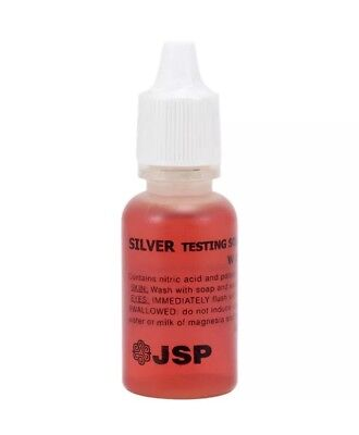 Jsp Silver Testing Acid Precious Metal Or Jewelry Test Free Shipping