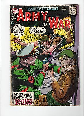 Our Army at War #138 (Jan 1964, DC) - Good-