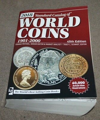 2018 Standard Catalog Of World Coins 1901-2000 45th Edition