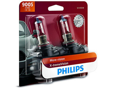 2x NEW PHILIPS XTREME VISION 100% 9005XVB2 HEADLIGHT DRIVING LIGHT | PACK OF 2