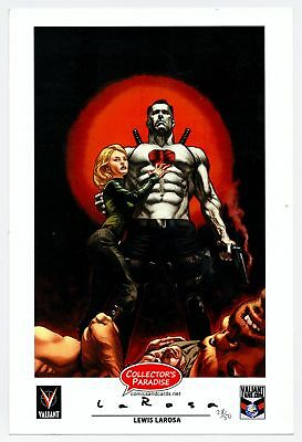 Bloodshot Reborn Larosa Signed Numbered Print Collector's Paradise Exclusive