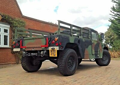 Humvee H1 Military Hummer 1985 HMMWV LOW Miles LHD Left Hand Drive