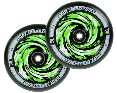Root Industries AIR 120mm Wheels Wrapped Pair Pro Scooter Wheels