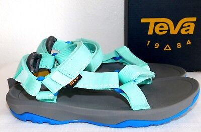 19e0069e4fe616 New Size 5 Teva Hurricane Xlt 2 Speck Sea Glass Sport Sandals Girls Youth  Kids