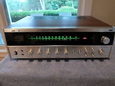 JVC 4VR-5426X Quadraphonic CD-4 SQ 4-Channel Stereo Receiver Exc+! Works!