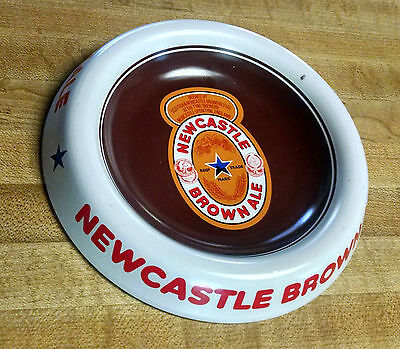 ASHTRAY / TIP TRAY, New Castle Brown Ale; Painted Metal