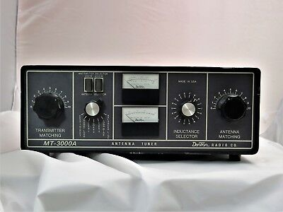 VINTAGE DENTRON MT 3000A HF HIGH POWER Antenna Tuner LOOK