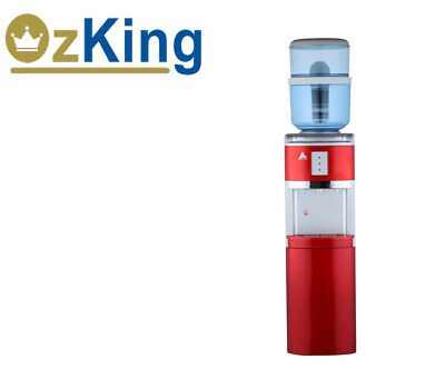 New Awesome AIMEX WATER Free Standing Hot Cold and Ambient Dispenser! Red