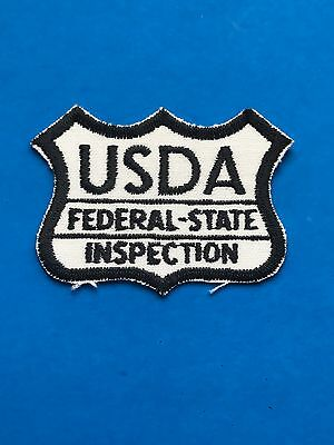 USDA Federal-State Inspection Patch