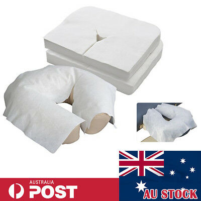 Massage Table Bed Head Rest Cover Face Cushion Sheets Disposable Cradle 100-500