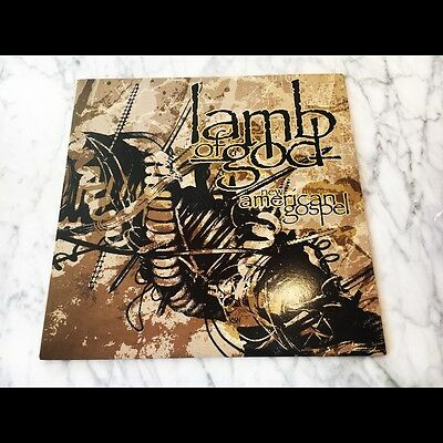 Lamb Of God ‎New American Gospel LP 2012 LE 500 Clear Gold Vinyl NM Cover NM