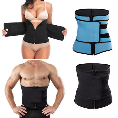Neoprene Waist Trainer for Men&Women Sport Gym Sweat Hot Belt Body Shaper Slim