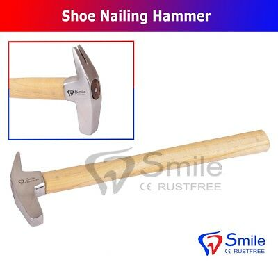 Farrier Hammer Square Head Nailing Hammer Horseshoes / Geological Hammer UK