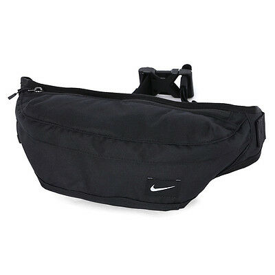 5874341497760 Nike Pack Fanny Bum Hood Waist Bag Black GYM Waistpack Travel Pouch BA4272-  067