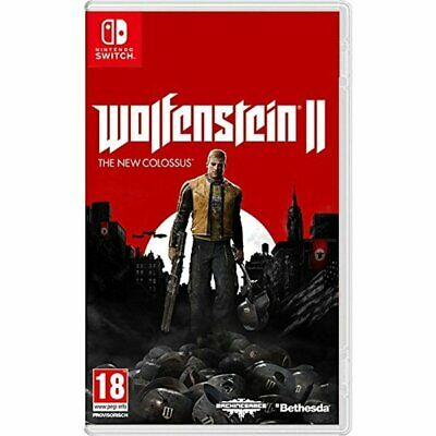 Wolfetein II: The New Colossus (Eng/ Chi Ver.) for Nintendo Switch NS