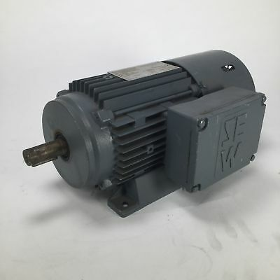 SEW DT80N4/BMG/HR motor 1380rpm 0.75kW 230/400V 50Hz IP54 Used UMP