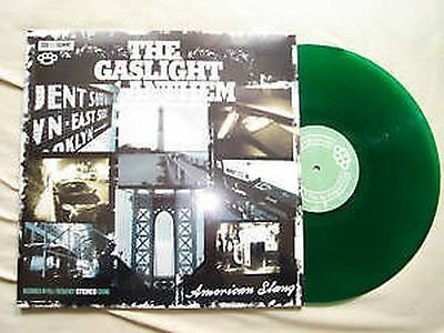 The Gaslight Anthem - American Slang Grün Green Lp Vinyl Rar Neu