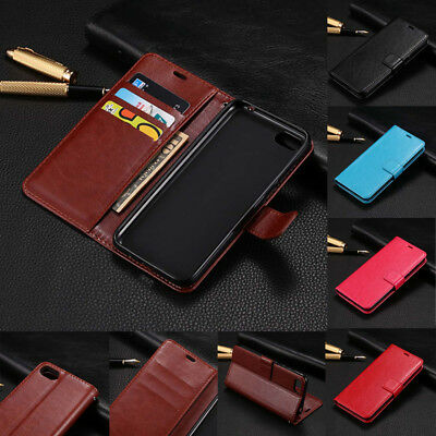 For Huawei Y5 2018 Y9 Y6 Shockproof Magnetic Flip Card Wallet Leather Case Cover