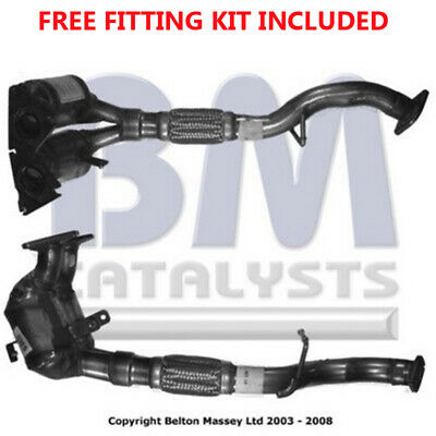 Fit with ALFA ROMEO 147 Catalytic Converter Exhaust 91426H 2.0 Fitting Kit Incl
