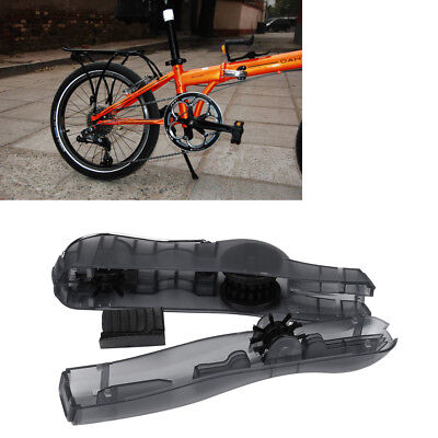18.5*6cm Bicycle Chain Cleaner Portable Clean Machine Brushes Scrubber Wash Tool