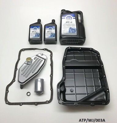 Transmission Oil Pan & Service KIT Jeep Grand Cherokee 4.7 1999-2004 ATP/WJ/003A