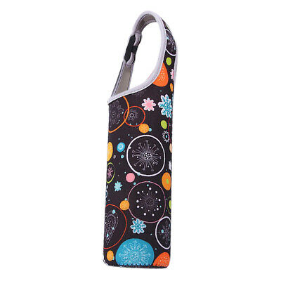 Sports 500ml Water Bottle Cup Holder Sleeve Insulated Cover Carrier Colorful