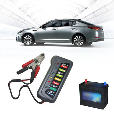 LED Electronic Automotive Relay Tester Car Diagnostic Battery Checker Test