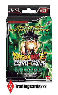 ♦Dragon Ball Super Card Game♦ Deck de Démarrage : The Dark Invasion - VF/SD03