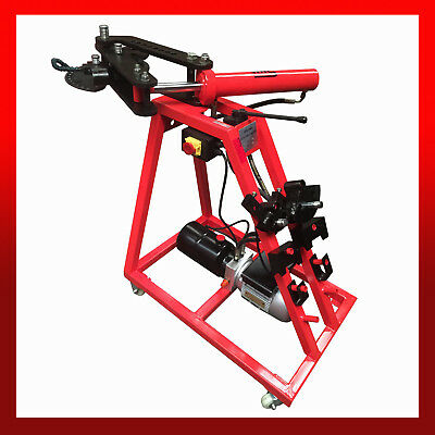 """WNS Hydraulic Tube / Pipe Bar Bender 2"""" Capacity w/ Bending Dies Roll Cage Frame"""