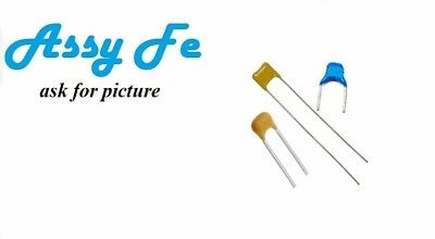 1nF 10nF 22nF 100nF 100V ±10/% X7R Ceramic Multiayer Leaded Capacitors Multi Qty
