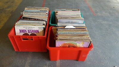 """LARGE Job Lot Of Approx 289 Various 12"""" Music Vinyl's - COLLECTION ONLY BH'AM"""