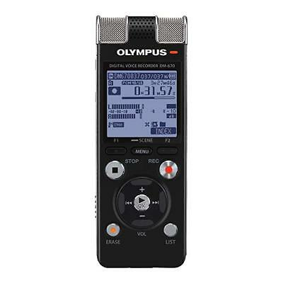 Olympus DM-670 8 GB Voice Recorder Brand New with Accessories
