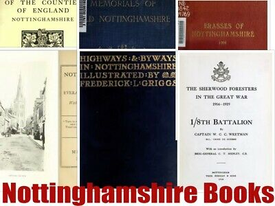 113 Nottinghamshire Books History Genealogy Books Parish Registers Newark Disk