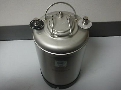 Nse N-Fusion 29750Ps 3-Gallon Stainless Steel Liquid/ Beer Storage Keg/ Tank New