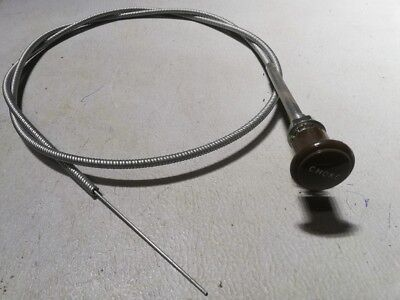 Jeep Mb Gpw Willys Ford G503 Ww2  Military Dodge Gmc Chevy Truck Choke Cable