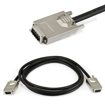 2M External SAS 34pin SFF-8470 Male to SAS 34 pin SFF-8470 Male Data Cable 28AWG
