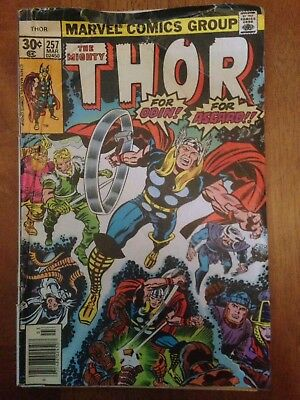 Thor Comic Books Marvel Comics Group See Listing For Names And Numbers