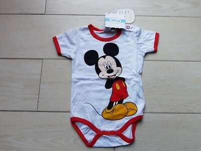 Body manches courtes Mickey **neuf** Taille 3 mois