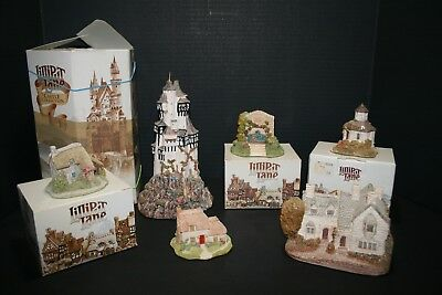 Lilliput Lane: Lot of 6/ Castle of the Ransome King, Puddlebrook, Cosycorner