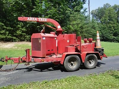 Altec Wd540D Industrial Wood Chipper Yr. 1995
