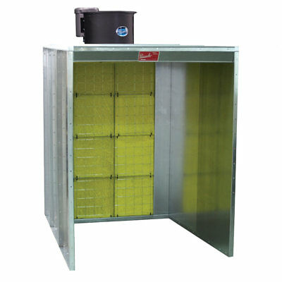 Paasche Walk-in Paint Spray Booth 4' Wide x 7' High - Made in The USA (NEW)